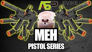 ASP MEH Airsoft Pistol Series - It's MEH-licious!