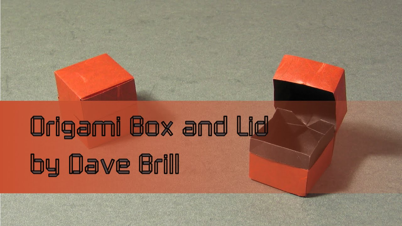 Origami Ring Box Tutorial - Paper Kawaii | 720x1280