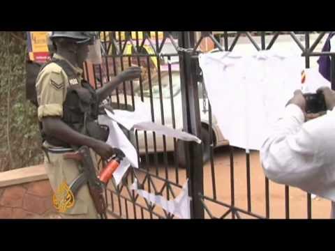Police close Uganda media outlets