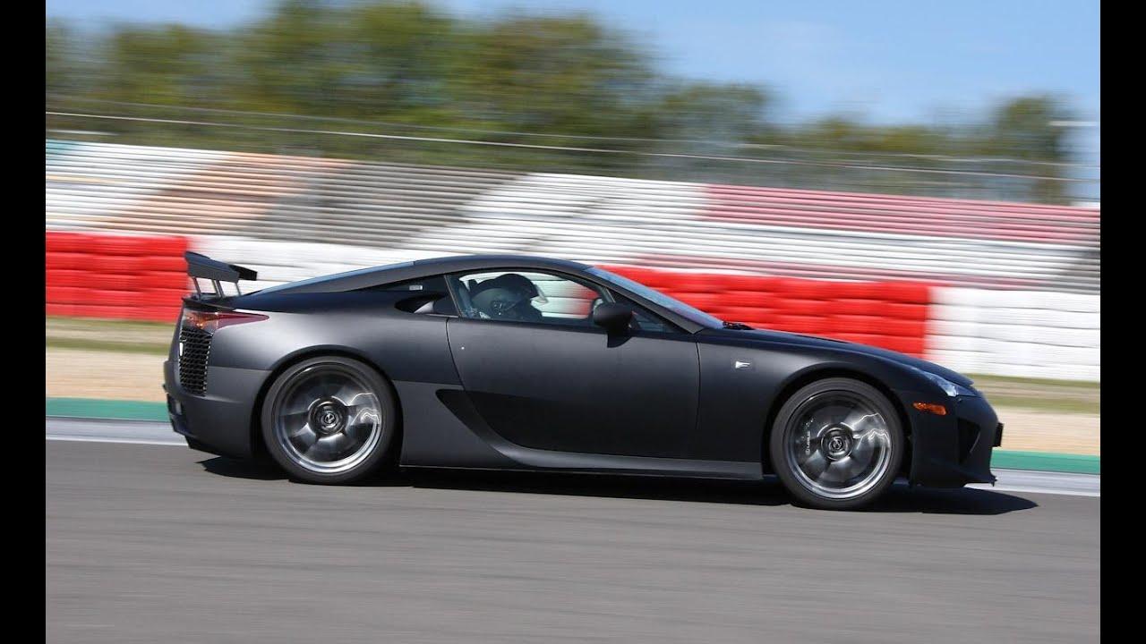 best cars ever 2015 lexus lfa start up, acceleration, exhaust, and