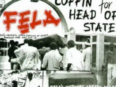 Coffin For Head of State- Fela Kuti