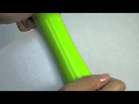 Handi Shred - a portable manual paper shredder