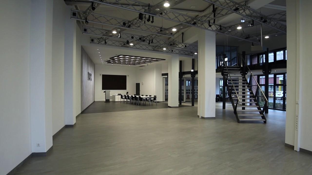 nora Schulungzentrum in Weinheim - Flächenwirkung von