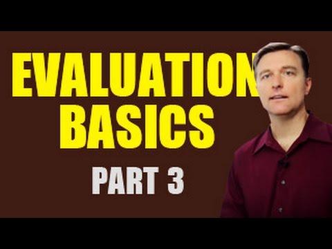 Evaluation Basics Part 3