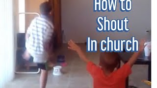 How to shout in a black church , A MUST SEE