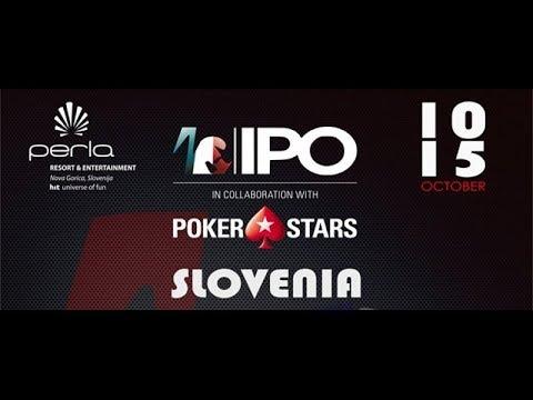 SPTV LIVE: IPO NOVA GORICA In Collaboration With PokerStars  📺 TV Final Table 