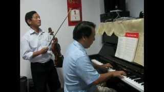 Tình ca Tây Bắc (Bùi Đức Hạnh) - Violon Công Đại & Piano Thu Đông