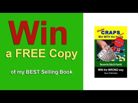 Win Your Own Copy of My Best Selling Book on Craps!