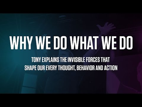 Why We Do What We Do | Tony Robbins explains the 6 Human Needs | Update !!!