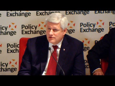 Stephen Harper discusses U.S. foreign policy at Five Eyes forum
