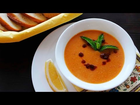 Рецепт Mercimek Çorbası - Традиционный Турецкий Суп из Красной Чечевицы  Рецепты NK cooking
