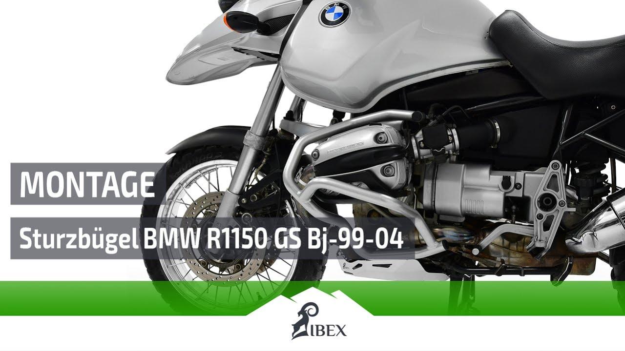 Ibex Sturzbugel Bmw R 1150 Gs Bj 99 04 Montageanleitung Tutorial