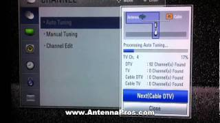 Antenna Pros Setup Video - Scanning For Channels