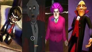 ► Scary Vampire vs Scary Teacher 3D vs Vampire Granny vs Scary Child