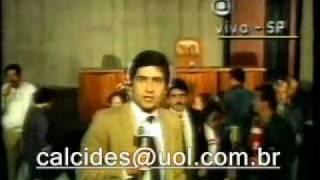 1985 - Anúncio da morte do Presidente Tancredo de Almeida Neves