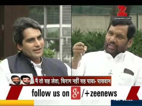 Bihar polls: Exclusive interview with Ram Vilas Paswan and Chirag Paswan
