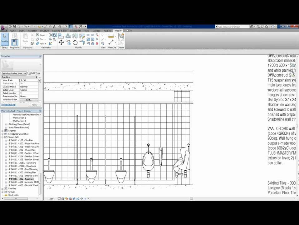 How To Do Wall Tiling In Revit Using The Paint Command