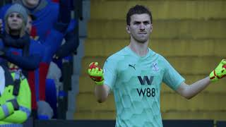 Fifa 21 - (premier league match) crystal palace vs liverpool
