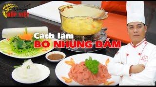 Cách nấu Bò Nhúng Dấm - Món ăn ngon - Chef Thái | How to make Beef Dip with Vinegar Hotpot