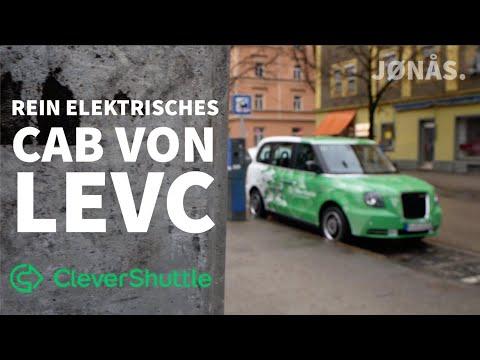 in Cabs von LEVC durch München mit Clevershuttle - joenohs testet!