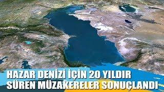 Hazar Denizi için 5 ülke anlaşmaya vardı