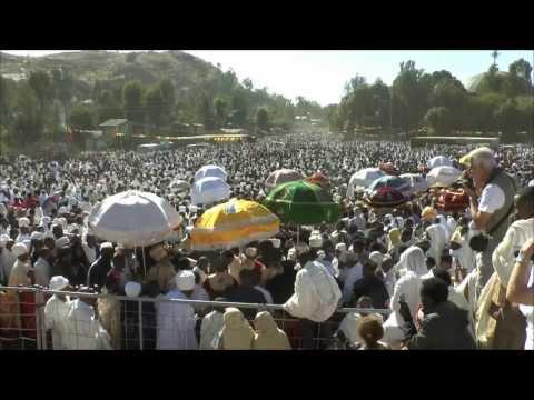 Äthiopien - Axum - Hidar Zion Prozession - 30.11.2013