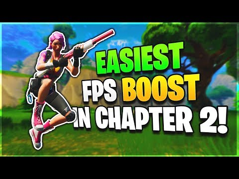 How To INCREASE FPS In Just 2 Minutes... (FPS BOOST In Fortnite Chapter 2!)