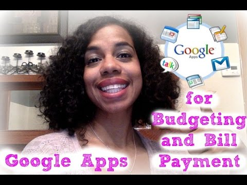 Free Budget Bill Management With Google Apps