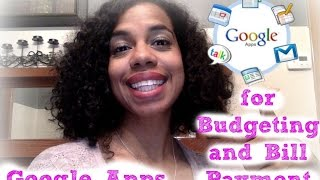 Free Budget & Bill Management with Google Apps!(This video is a tutorial on how to use the features of Google Apps to create you own budget management and bill payment solution. This will help you get out of ..., 2015-08-21T14:51:12.000Z)