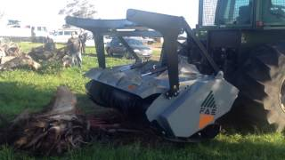 Testing Our New FAE Forestry Mulcher (With Optional Clutch System)