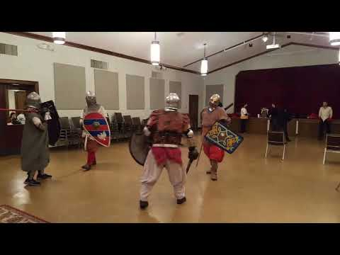 SCA Fighter Practice Barony of Caer Maer
