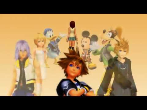 ReUpload Kingdom Hearts ~Asterisk~ Bleach Opening Parody