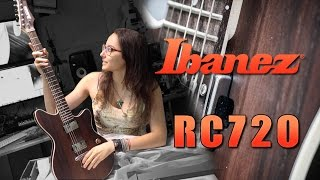 ibanez roadcore rc720 kiana s new guitar full review