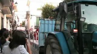 Desfile de carrozas en Orce (Granada) - 12 de agosto de 2010