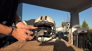 What's inside a Football Helmet?