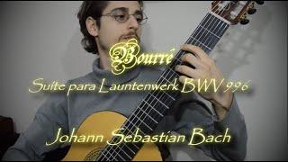 🎸 Bourré de J.S. Bach (Versão Didática com Partituras)
