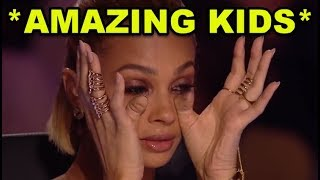Top 10 *MOST AMAZING KIDS* SINGING GOLDEN BUZZER AUDITIONS!