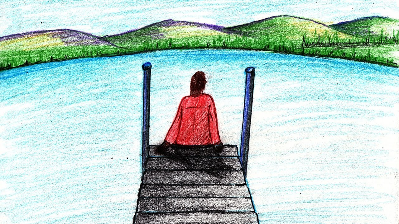 How to draw a person sitting on boat dock step by step very easy how to draw a person sitting on boat dock step by step very easy freerunsca Gallery
