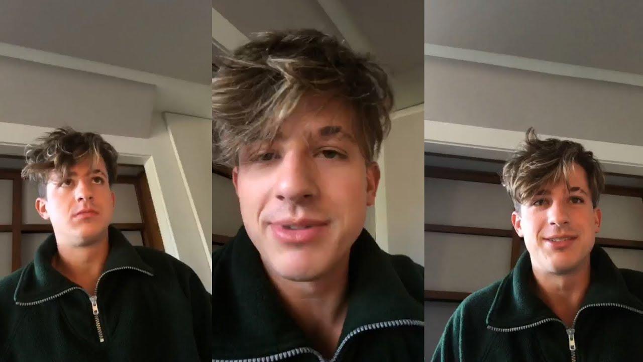 Charlie Puth Instagram Live Stream