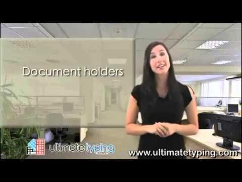 Typing Ergonomics: The Document Holder