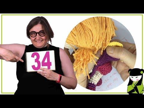 como hacer unas braguitas a un muñeco amigurumi 34 forma parte del movil de la brujita a crochet