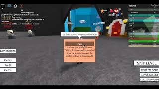 ROBLOX Speed Run CODE