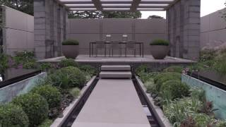 Garden Design by Charlie Albone and Inspired Exteriors-  Landscape Design