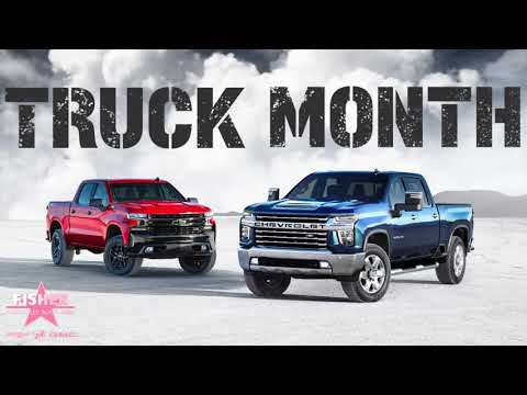It's Chevy Truck Month At Fisher Chevrolet Buick GMC!