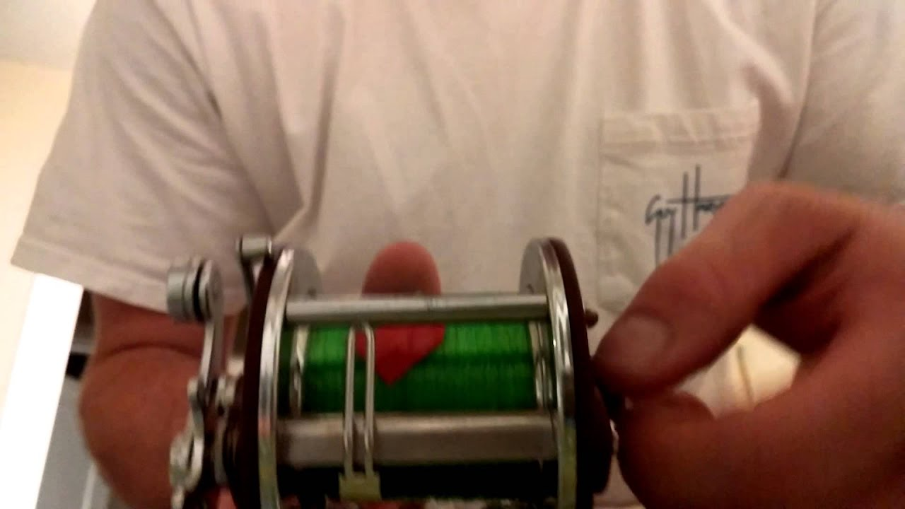 How to spool a conventional reel - How To Spool A Conventional Reel 35