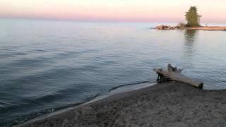 Рассвет на Обском море