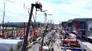 ГИГАНТСКАЯ строительная выставка в Крокус-Экспо / GIANT Building Exhibition at the Crocus Expo(Каждый год вся парковка Крокуса, а также несколько залов, полностью заполняются строительной техникой...., 2014-06-07T21:43:42.000Z)