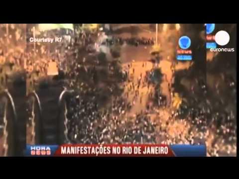 Viktima e pare nga protestat ne Brazil