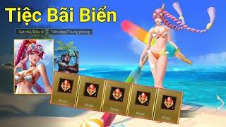 Trang Phục Của Đá Quý Airi Tiệc Bãi Biển Nóng Nhất Liên Quân Mobile | MAX MOBA GAME