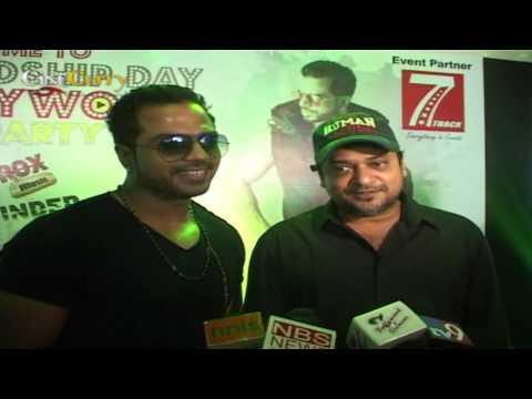 Sajid At Inder Sharma Album Launch Chal Hutt ID Rox
